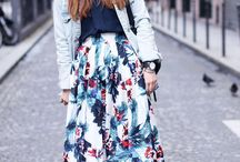 sneakers + skirts