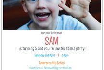 Sam's 5th Birthday