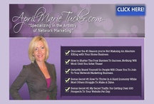 FREE MLM Leads and Online Network Marketing Training / New Blog post from AprilMarieTucker.com Learn Online Network Marketing strategies to generate more leads and sponsor more reps to your Network Marketing business. / by April Marie Tucker