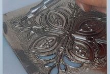 Metal embossing patterns!