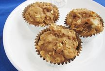 Muffins / Apple cinnamon healthy muffins