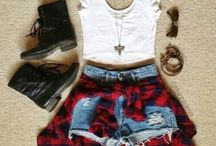 Fashion / My kind of style that i would like to wear but instead i wear leggings and oversized tees