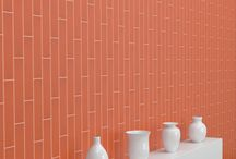 Handwritten Wall Tile by Crossville / Inspired by artisan craftsmanship, our newest tile collection in a range of creative shapes, sizes, and colors empowers designers to create truly custom installations for commercial and residential interior walls.
