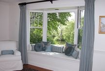 Bay Windows & Curtains