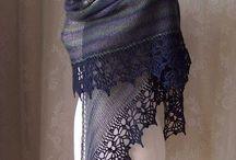 knitting shawls scarf cowl