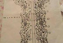 çiçek çizimleri