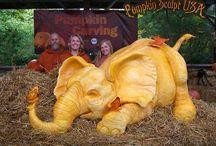 Pumpkin sculpt