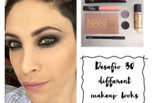 Makeup 30 day challenge / 30 different makeup looks
