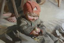 Anders Zorn / I just love the colours!