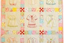 patchwork bebek yatak örtüsü