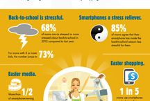 Back to School Infographics / Back to School retail infographics for Target campaign.