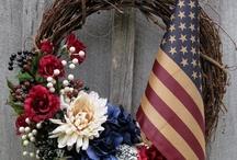 Wreaths I Love - Patriotic / by Brenda Headley
