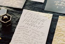 Calligraphy - Wedding