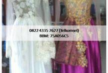 Kebaya Wedding Pengantin Modern / Kami melayani pemesanan Kebaya Modern, classic untuk Wedding, Pengantin, Lamaran TunanganInformasi dan pemesanan hubungi 0822 4335 7627  bbm 75A056C5