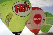 Alpenüberquerung / Überquerung der Alpen im Heißluftballon von Deutschland nach Italien