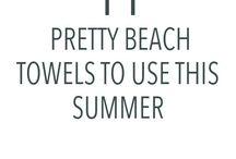   BEACH LIFE  / Beach life ideas for your vacay, www.sincerelybalanced.com