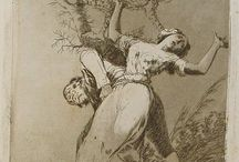 "Goya, casa del sordo e ""capricci"""