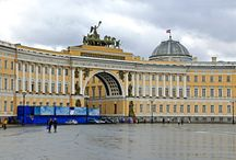 """Stunning St Petersburg / St Petersburg was Europe's first-ever purpose-built capital city, built from scratch on a boggy piece of marshland, beginning from 1703 onwards.  The reason for this unlikely site was that Peter the Great (the first Russian ruler to call himself """"Emperor"""" and not """"Tsar"""" – and who renamed the country from """"Rus'"""" to """"Rossiya"""") had just defeated the Swedish Army (at that time the most formidable in Europe) there."""
