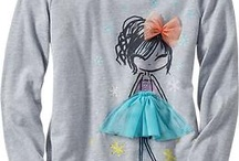 Creative Appliqué t-shirts