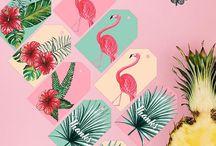 party printable / printable, watercolor, DIY, party, holiday, birthday, wedding, card, decor, tags