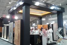 SAUDI BUILD EXPO / During the last edition of SAUDI BUILD EXPO in the KSA our frescoes handcrafted in Italy were amazingly displayed.