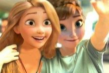 Anna and Rapunzel