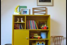 Vintage boys rooms for B