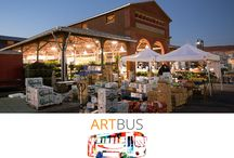 ARTBus / A fun Day Trip from The Ann Arbor Art Center to a fun and artistic location. Our itinerary is always been designed to showcase artists from emerging to established as well as strengthen the comradery amongst Art Center community members.