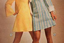Moda retro / Retro fashion, 60s and early 70s.