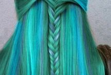 Crazy hair colour ideas / Hair to die for....