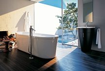 Modern - Natural / Meet modern and natural, the dream of tranquility and simplicity, free from superfluous clutter. Axor Starck collection is the ideal bathroom that outlives every trend and has a down-to-earth feel.