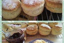 Scones, jams & clotted cream