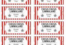 Zirkus Geburtstag