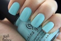 Nails color trends / ...a nail tip for knitting inspiration