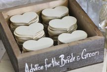 Wedding Guest Book Inspiration / So many great and quirky ideas for a guest book.