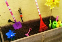 Gardening with Kids / Activities you can do with kids to learn about gardening and nature.