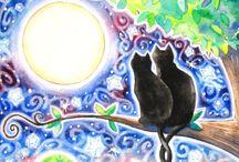 Gatti in arte