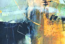 Acrylic abstract art ideas