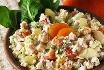 Salate. Antepaste. Brunch