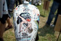 motorcycle tank art