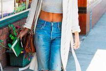 Blusas e calças