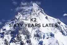 "Moncler K2 - 60 Years Later / Today, as in 1954, Moncler is supplying the ""K2 – Sixty Years Later"" expedition team with the technical equipment for the expedition celebrating the Italian conquest of K2 60 years on. More on http://on.moncler.com/1kgDQqE / by Moncler"