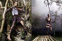 inspiration: female warrior
