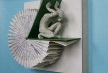 folded page art