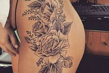 hip tattoos women
