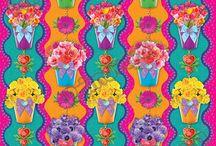 Papel Regalo Flores / Línea de Envoltura Primavera