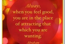 Life and love from within yourself / Abraham Hicks writings and other sources.. / by Suzy Blazak