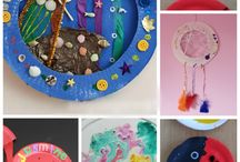 Paper plate crafts / Craft ideas using paper plates