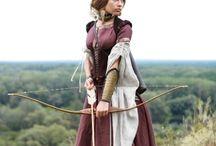 medieval hunter cosplay