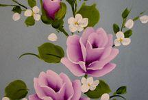 Lila güller